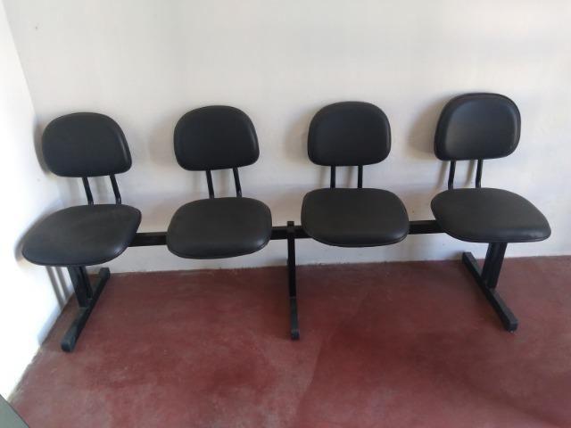 Cadeira de espera pra barbearia