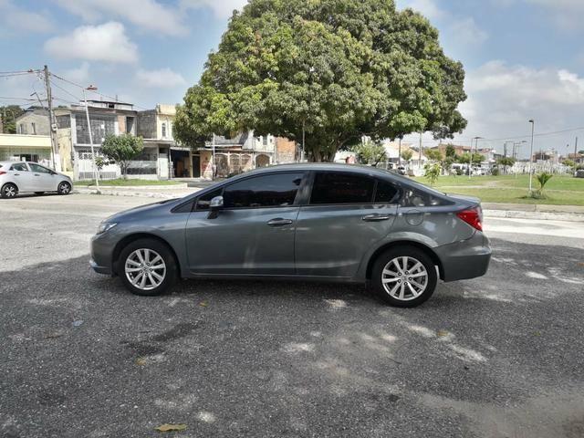 Honda civic lxs 1.8 at 2014 r$ 49.900,00. só na rafa veículos, consultor eric * - Foto 5