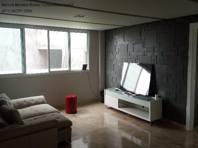 Linda casa pra venda ou locação - Alphaville Salvador 1. Lote diferenciado em parte alta.  - Foto 5