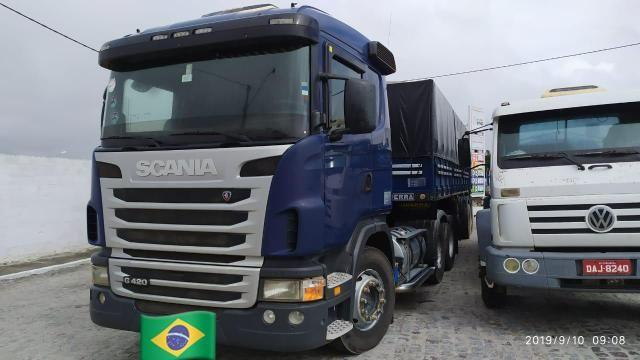 Scania g420 6x2 ano 2010 bitrem guerra ano 2011 - Foto 4