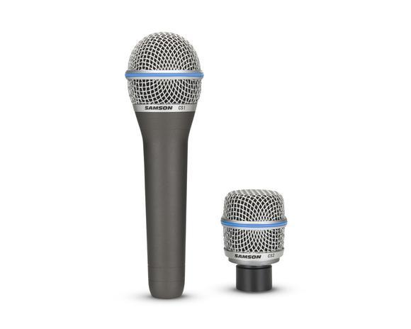 Microfone Samson CS Series c/ 2 Cápsulas (Link Para Compra)