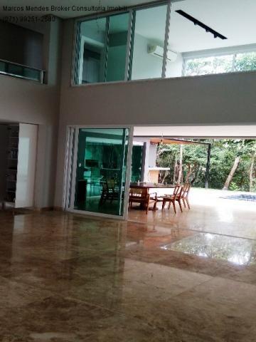 Linda casa pra venda ou locação - Alphaville Salvador 1. Lote diferenciado em parte alta.  - Foto 16