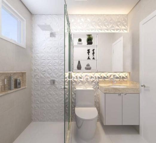 Apartamento com 2 dormitórios à venda, 58 m² por R$ 203.000,00 - Vila Rosa - Goiânia/GO - Foto 7