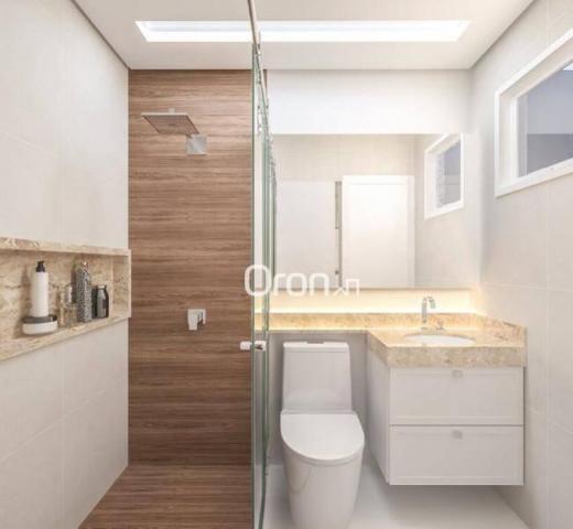 Apartamento com 2 dormitórios à venda, 58 m² por R$ 203.000,00 - Vila Rosa - Goiânia/GO - Foto 6