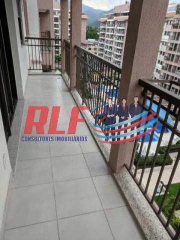 Apartamento para alugar com 3 dormitórios em Taquara, Rio de janeiro cod:RLAP30221 - Foto 2