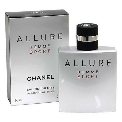 baab050cd82 Perfume Allure Homme Sport Chanel Eau de Toilette Masculino 100 ml ...