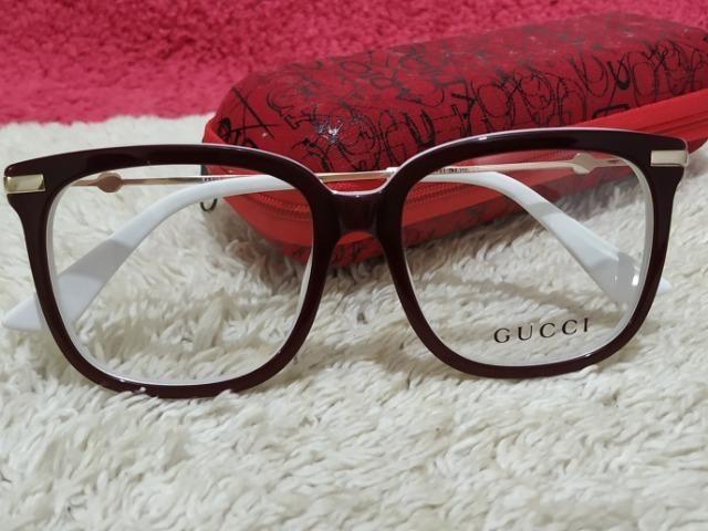 Armação Gucci feminina linda ) - Bijouterias, relógios e acessórios ... 13ff51137b