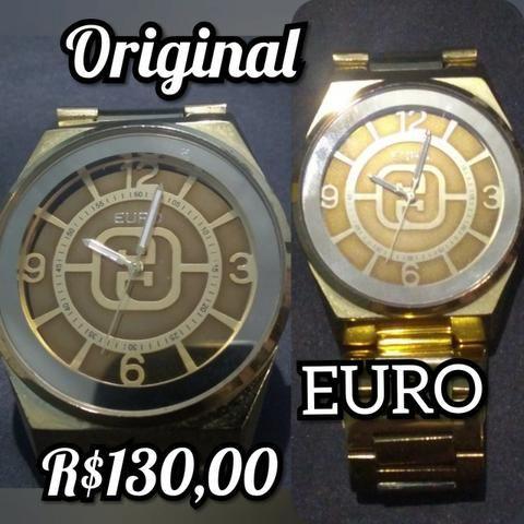 a4f5eca9b90 Relógios Euro e Touch
