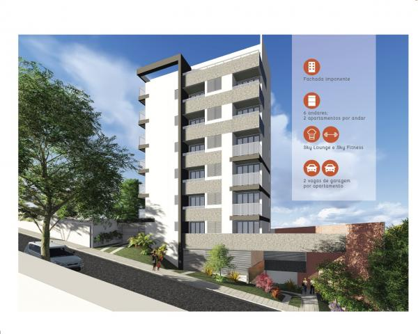 Área privativa à venda, 2 quartos, 2 vagas, nova granada - belo horizonte/mg