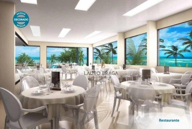 Residencial Riacho Doce Beach Residence Apartamento residencial à venda, Jacarecica, Macei - Foto 7