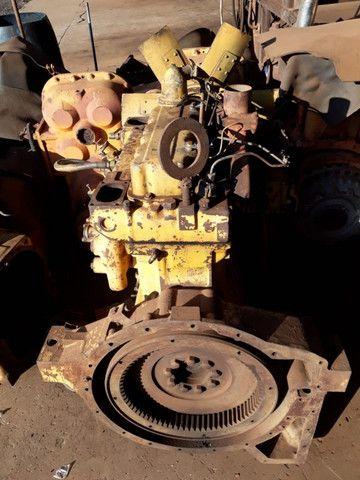 Motor Caterpillar 3304 com bomba injetora dosadora - Foto 6