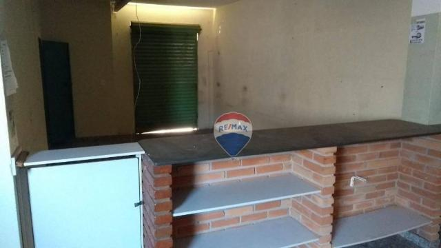 Casa 02 dormitórios e/ou salão comercial, locação, R$ 900,00 cada, Cosmópolis, SP - Foto 16