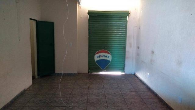 Casa 02 dormitórios e/ou salão comercial, locação, R$ 900,00 cada, Cosmópolis, SP - Foto 17