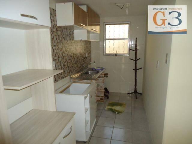 Apartamento com 1 dormitório para alugar, 38 m² por R$ 500,00/mês - Areal - Pelotas/RS - Foto 3