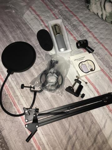 Microfone Estúdio Bm800