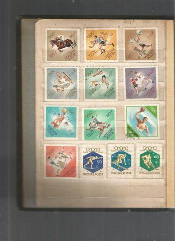 Álbum de selos húngaros - Foto 3