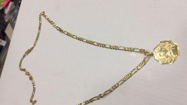 Cordão de Ouro Maciço - Foto 3