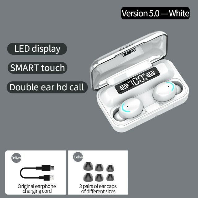 Fone De Ouvidos F9-5 Stéreo - Bluetooth 5.0 Binaural - Foto 2