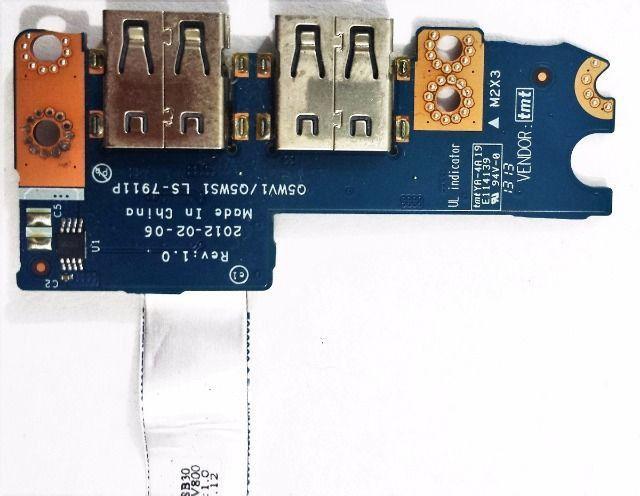 Placa Usb Acer E1-571 5v3-571-6654 Ls-7911p E1-531-2626 - 006 - Foto 2