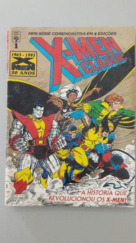 X-Men Classis - 6 Revistas com Historias Classicas - Foto 3