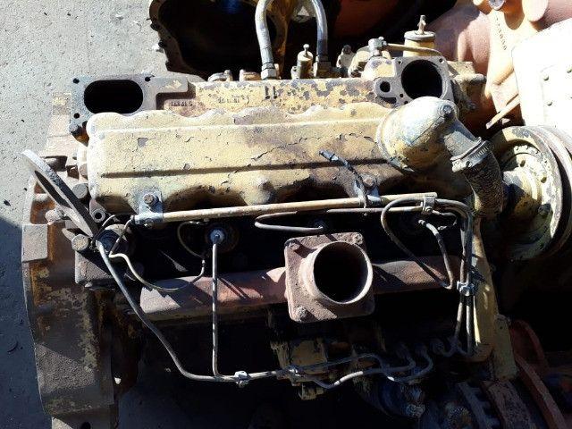 Motor Caterpillar 3304 com bomba injetora dosadora - Foto 3