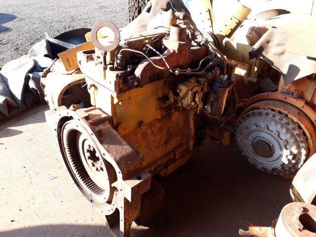 Motor Caterpillar 3304 com bomba injetora dosadora - Foto 5