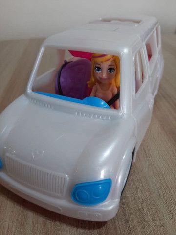 Boneca Polly Pocket Limousine Fashion com acessórios - Foto 2