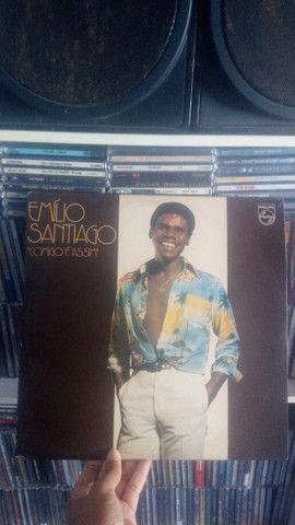 LP Vinil Emílio Santiago, Comigo é Assim (1977)