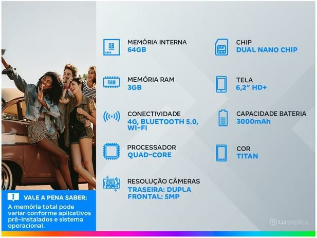 Smartphone LG K22+ - Foto 2