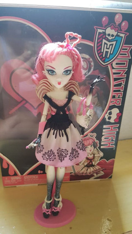 *lote* 5 bonecas Monster high - Foto 3