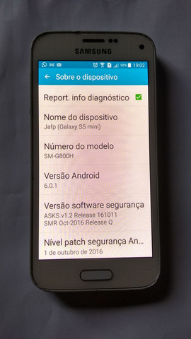 Samsung S5 mini - Foto 2