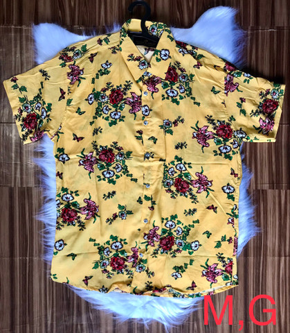 Camisas floridas em viscose - Foto 3