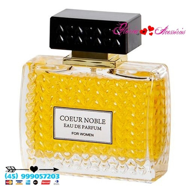 Coeur Noble 100ml Eau De Parfum Chanel 5 Original - Foto 3