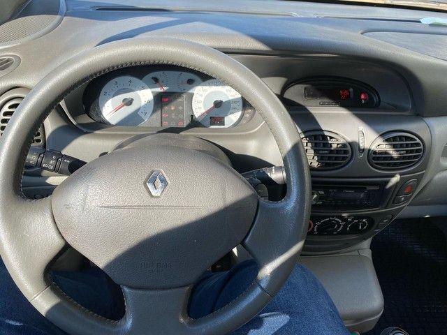 Renault Scenic 1.6 Privilége HI-Flex - Placa A- pneus novos- Leiam - Foto 13