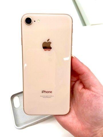IPHONE 8 ROSE 64GB SEMI NOVO
