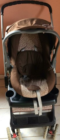 Vendo carrinho ds bebe e caderinha - Foto 3