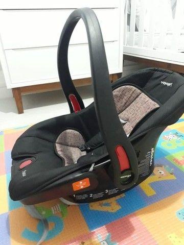 Conjunto Carrinho de bebê + bebê conforto - Foto 6
