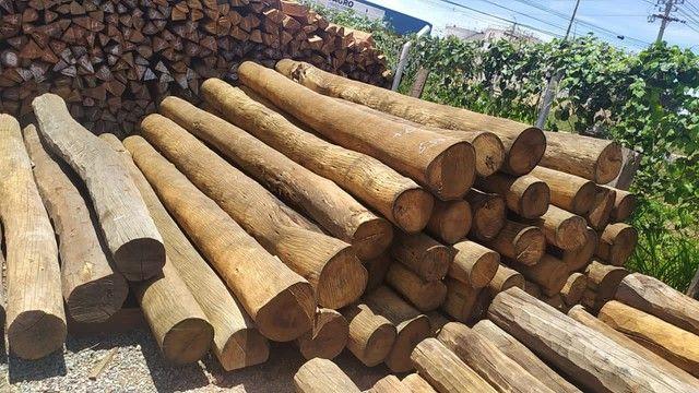 Madeiras/lascas/tábua/viga/Deck/Pergolado/assoalho/palanque/compensados/itauba - Foto 4