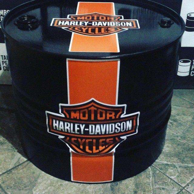 Tambor Personalizado Mesa de Centro Harley - Foto 3