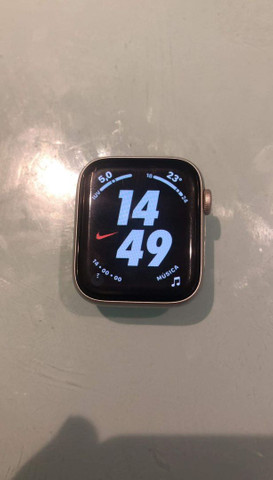 Apple whatch Nike série 4 celular GPS