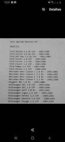 Vela ignição motores CHT - Foto 2