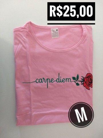 T-shirt / Blusas Femininas - Foto 3