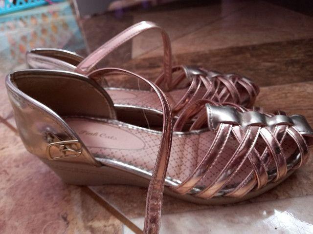 Sapatos femininos infantil  - Foto 2