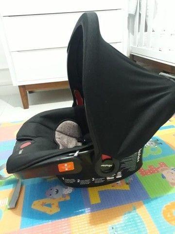 Conjunto Carrinho de bebê + bebê conforto - Foto 2