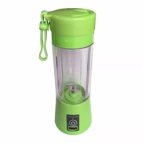 Mini Liquidificador Portátil Shake Juice Cup e Cabo Usb<br><br> - Foto 3