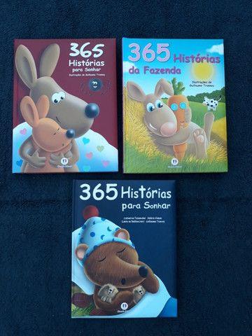 Kit com 3 Livros Histórias para Sonhar