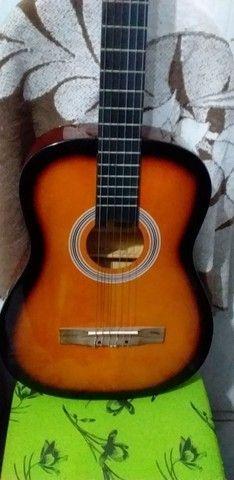 Vendo ou troco violão vogga novo  - Foto 2