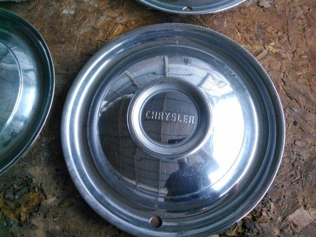 Jogo de calotas originais em Inox Chrysler - Belvedere - Fury - Imperial - New Yorker - Foto 2