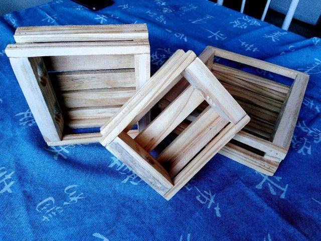 3 caixinhas Organizadora