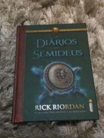 Livros Percy Jackson - Rick Riordan